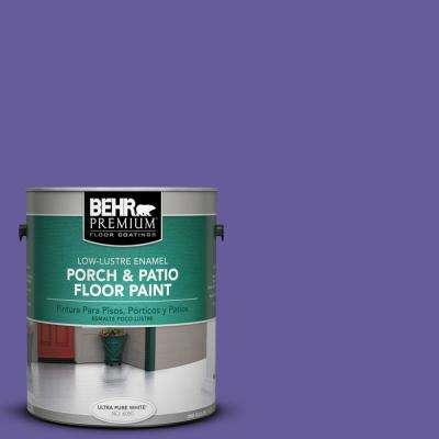 1 gal. #P560-6 Just a Fairytale Low-Lustre Interior/Exterior Porch and Patio Floor Paint