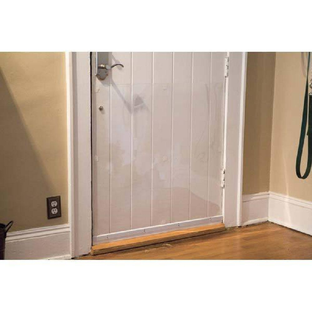 Door Shield Protection from Pet Scratches  sc 1 st  The Home Depot & Cardinal Gates 33 in. x 35 in. Door Shield Protection from Pet ...