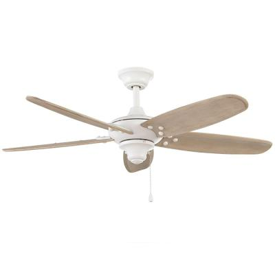 Altura 48 in. Indoor/Outdoor Matte White Ceiling Fan