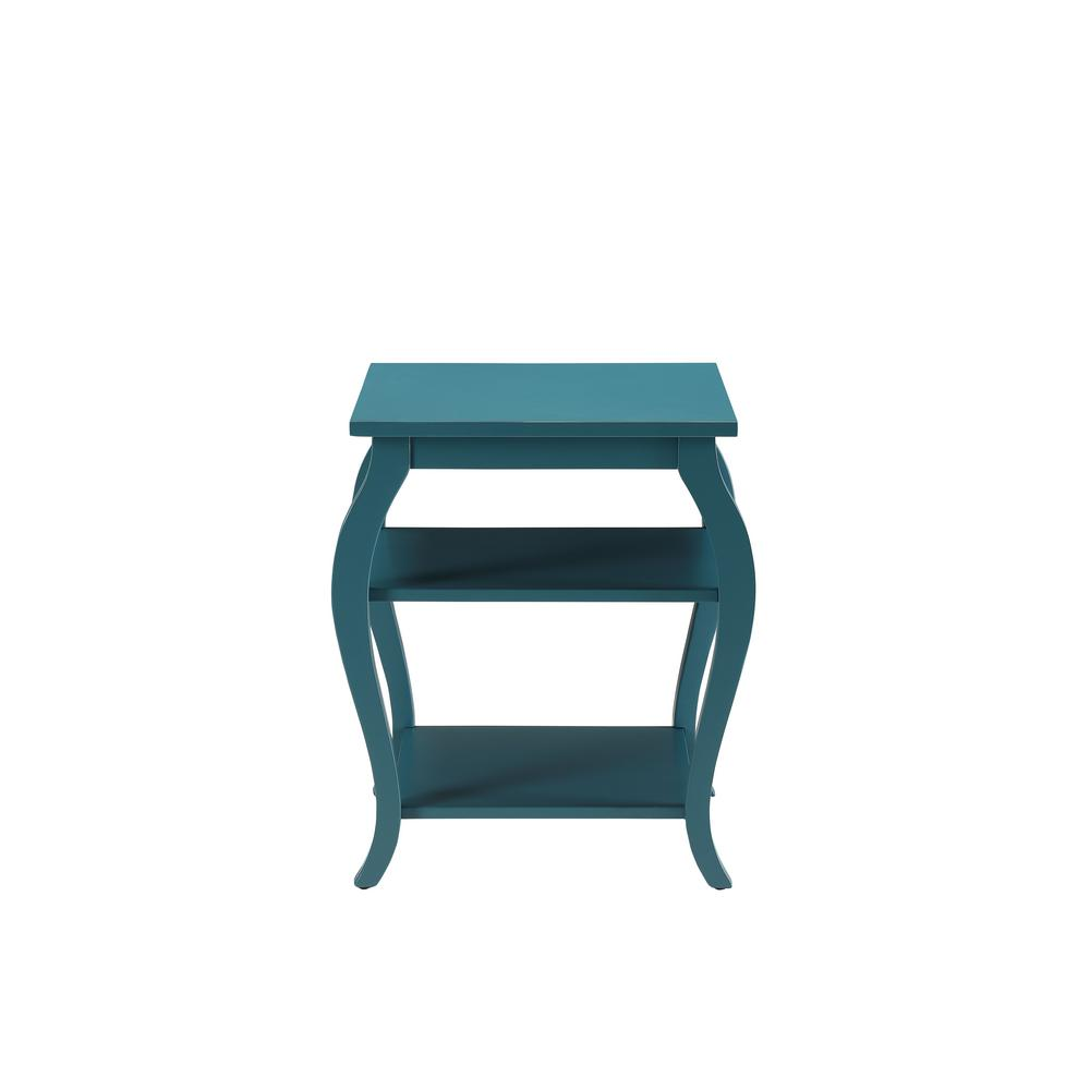 Acme Furniture Becci Teal Storage End Table 82832 The