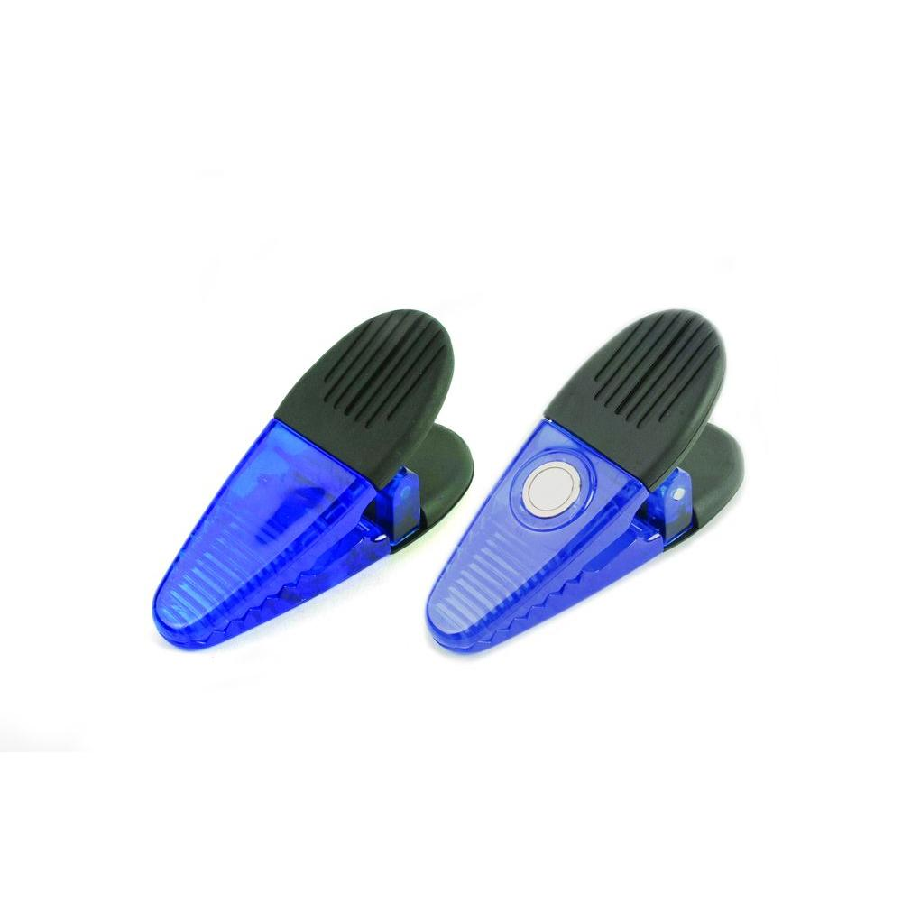 Blue Utility Magnetic Clips (2-Piece per Pack)