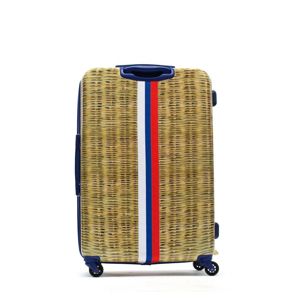 Nauti Provence 29 in. Tan Rolling Luggage Suitcase