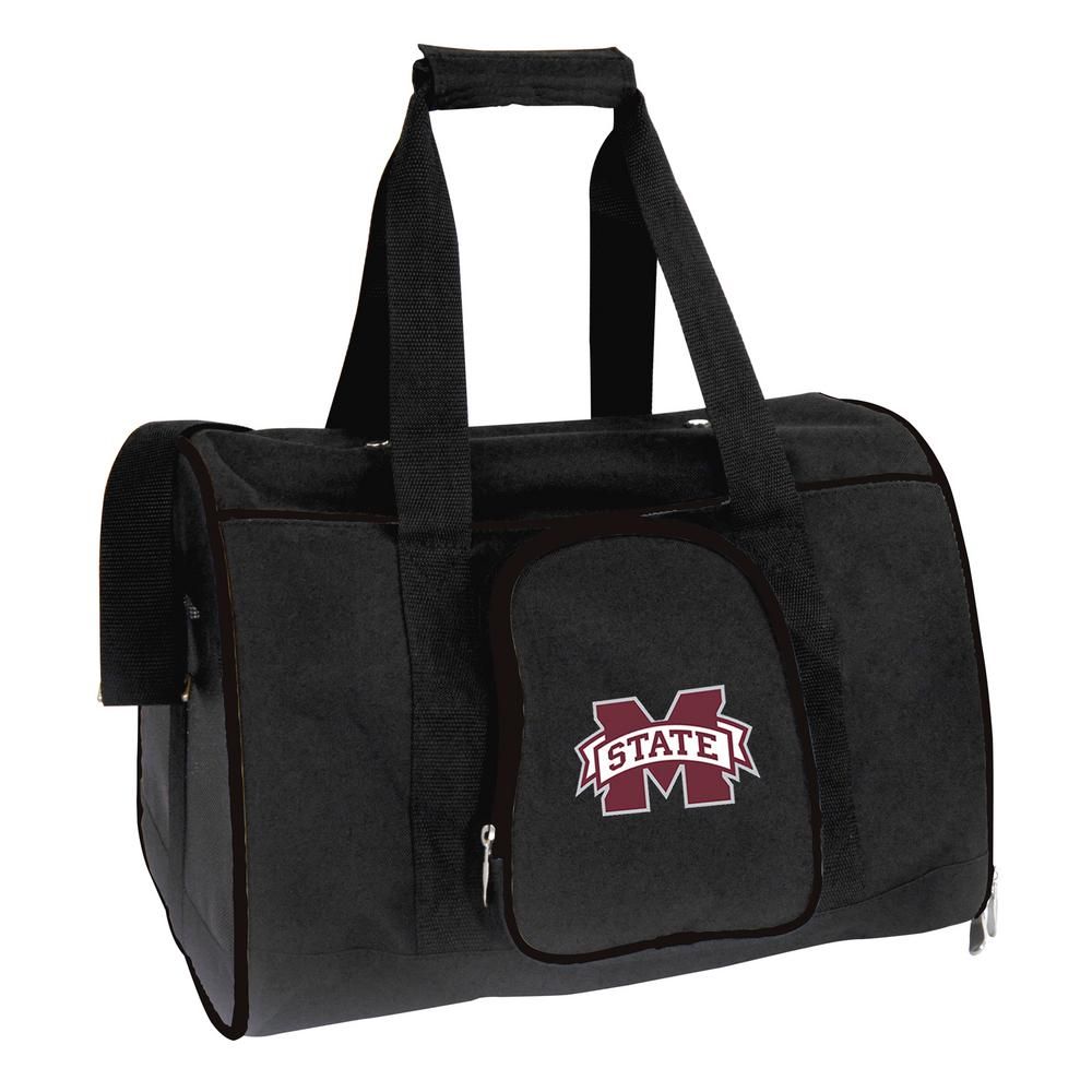 NCAA Mississippi State Bulldogs Pet Carrier Premium 16 in. Bag in