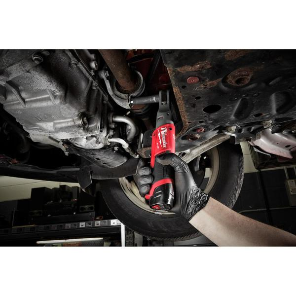 Milwaukee 2557-21 M12 FUEL 3//8 Drive Ratchet Kit With Battery and Charger