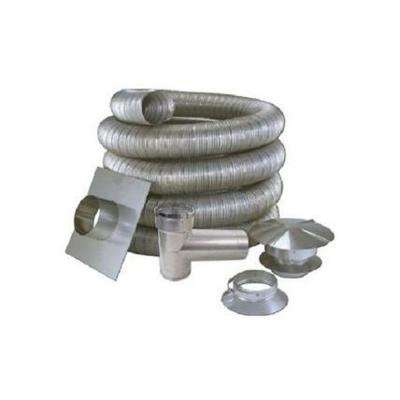 5 in. x 35 ft. All Fuel Stainless Steel Kit