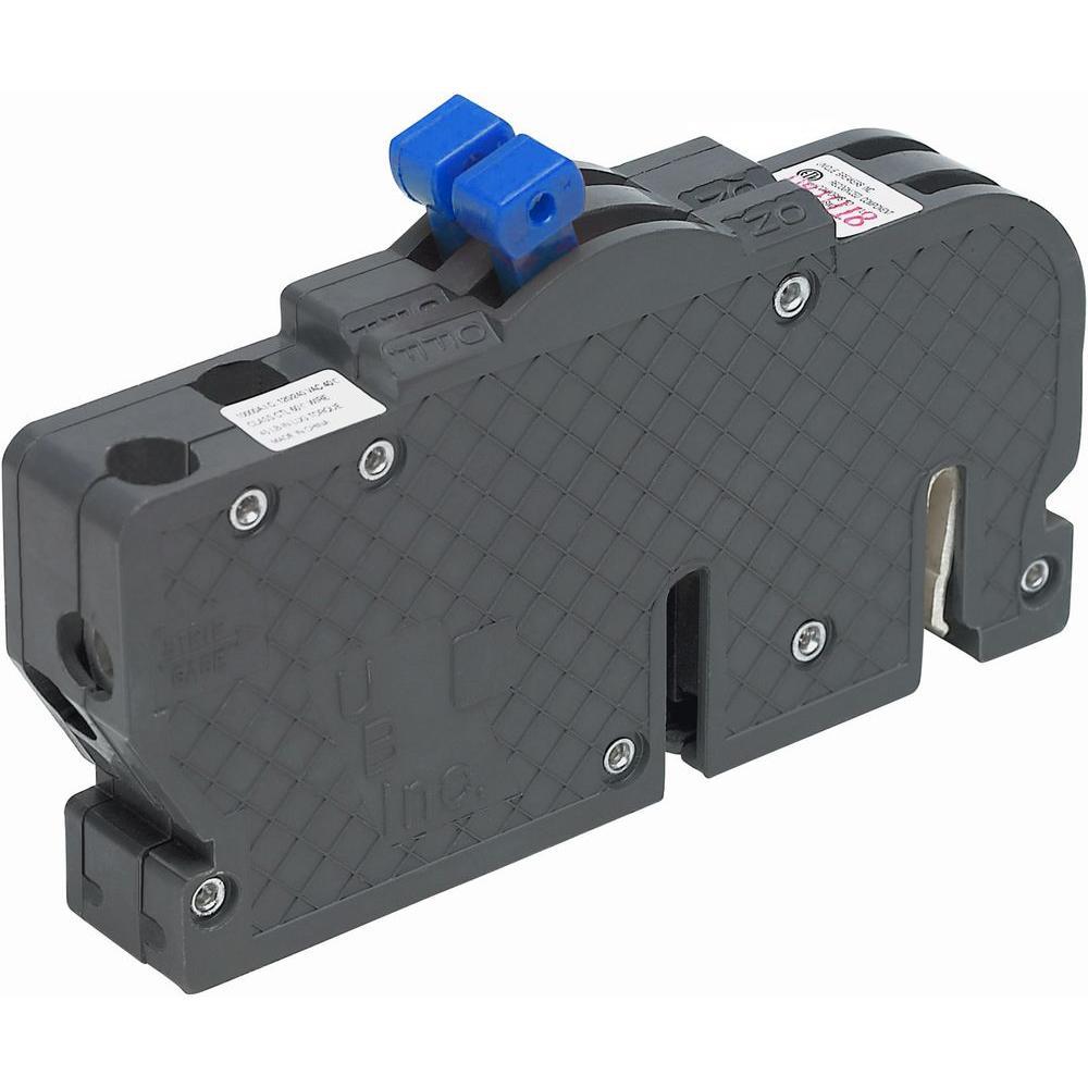 New VPKUBIZ Thin 15/15 Amp 3/4 in. 1-Pole Zinsco Twin R3815 Replacement Circuit Breaker