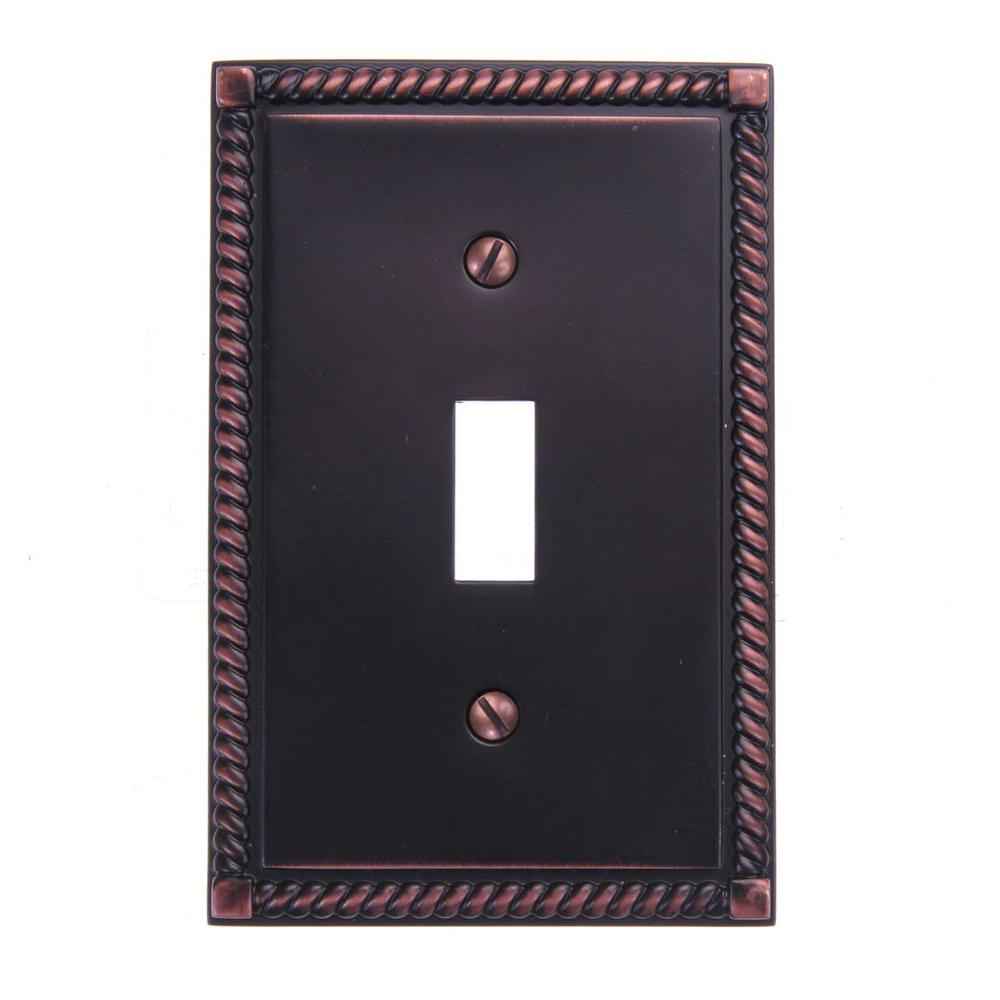 Amerelle Georgian 1 Toggle Wall Plate