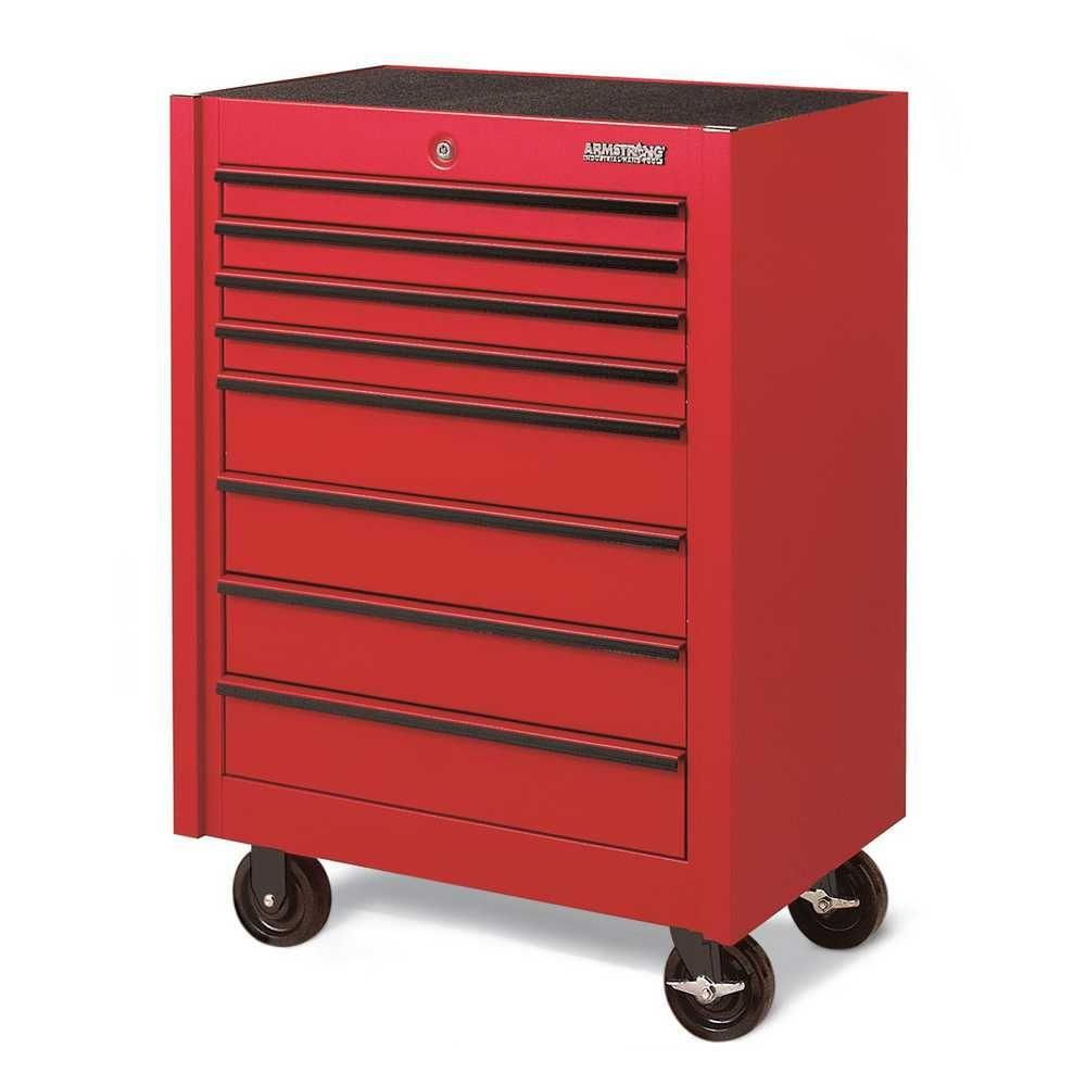 Armstrong 30 in 8 drawer single bay industrial series for Storage bay