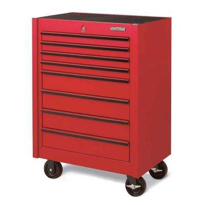 30 in. 8-Drawer Single Bay Industrial Series Rolling Storage Cabinet