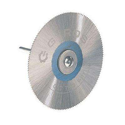 2 in. Diameter Fine Teeth Saw Blade with Mandrel
