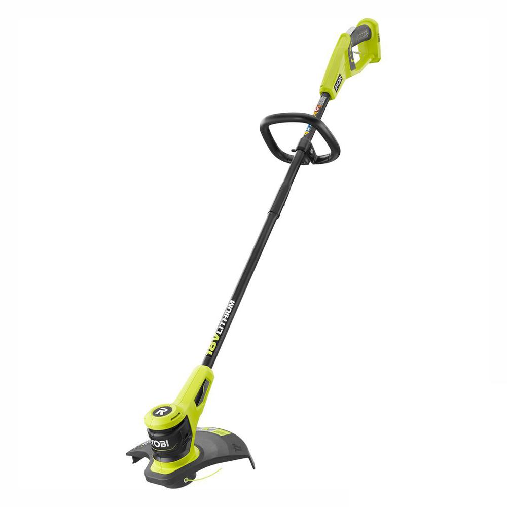 RYOBI ONE+ 18-Volt Lithium-Ion Electric Cordless Battery String Trimmer  (Tool Only)