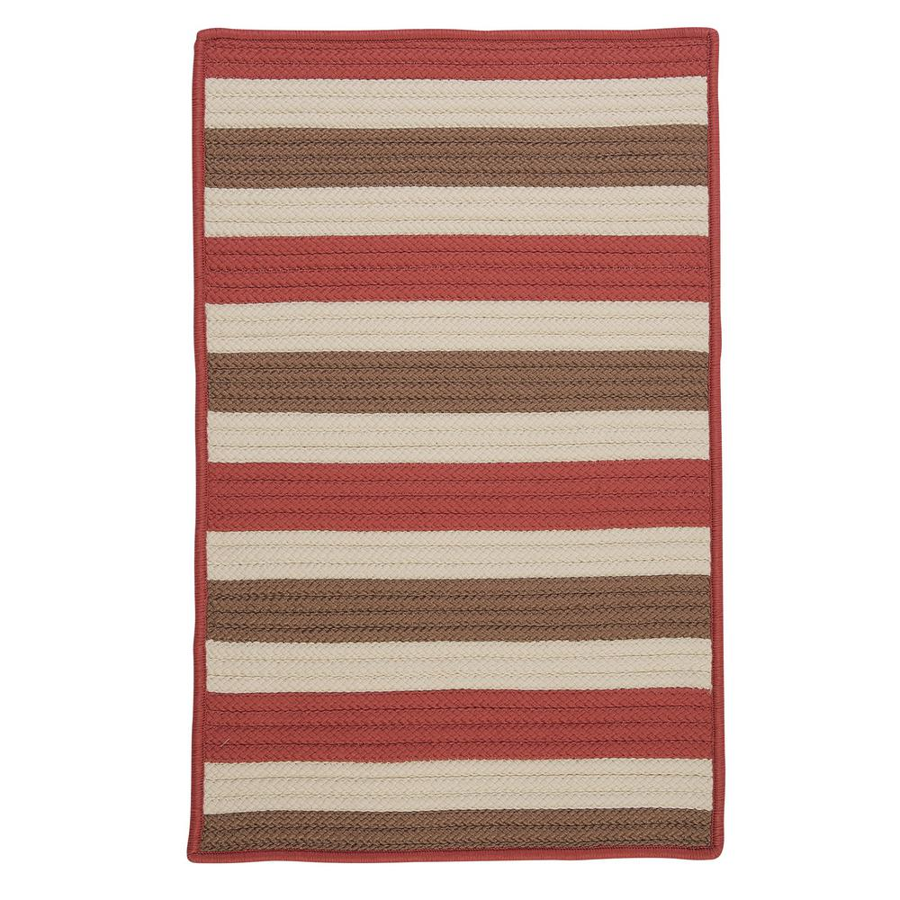 Home Decorators Collection Baxter Terracotta 5 Ft X 8 Ft Indoor Outdoor Braided Area Rug Tr99r060x096s The Home Depot