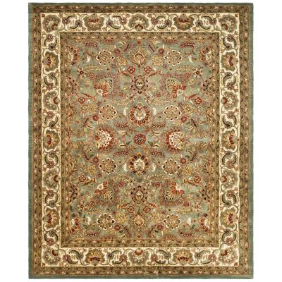 Classic Celadon/Ivory 8 ft. x 11 ft. Area Rug