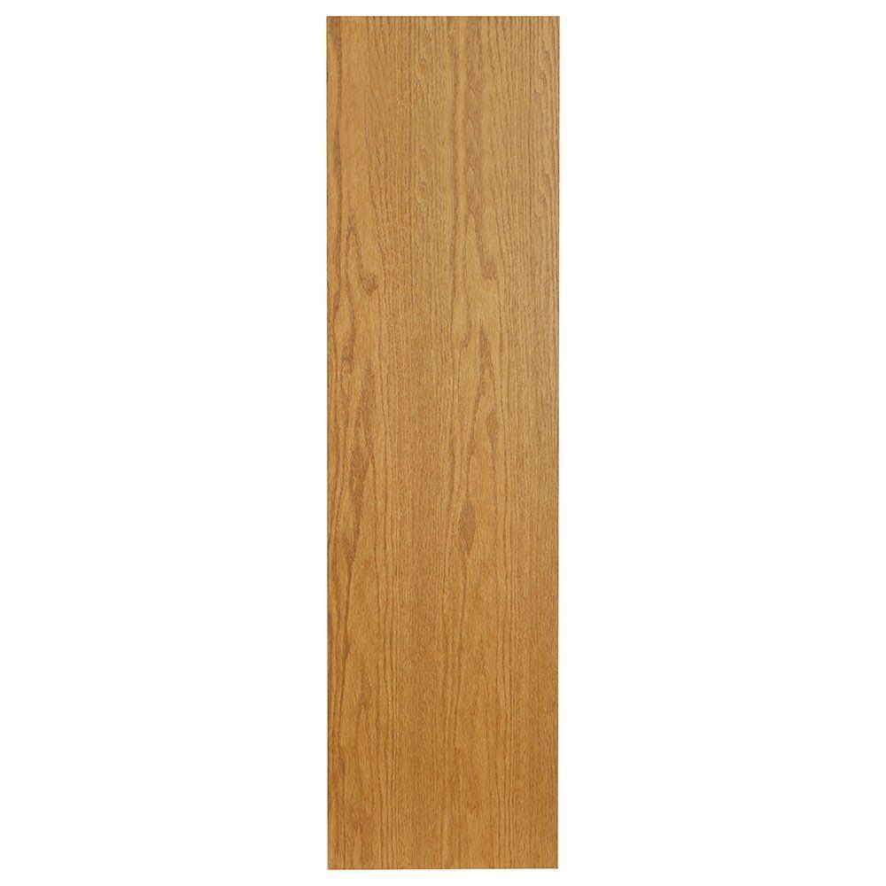 0.1875x42x11.25 in. Cabinet End Panel in Medium Oak (2-Pack)