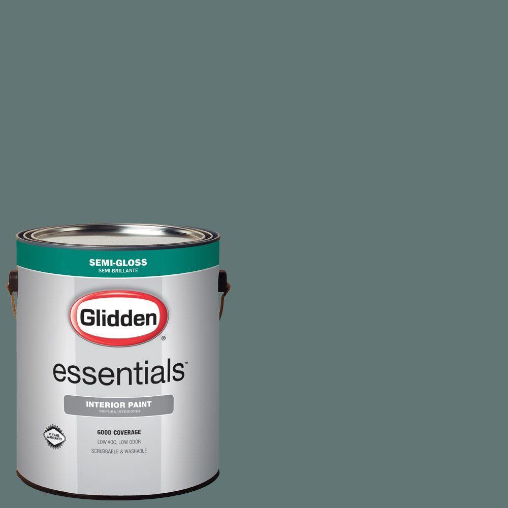 Hdgcn21d Dark Teal Woods Semi Gloss Interior Paint