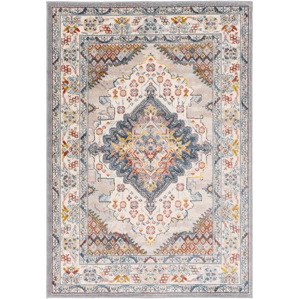 Artistic Weavers Chandi Blue/Orange 5 ft. 3 in. x 7 ft. 3 in. - Sale: $82.00 USD (39% off)
