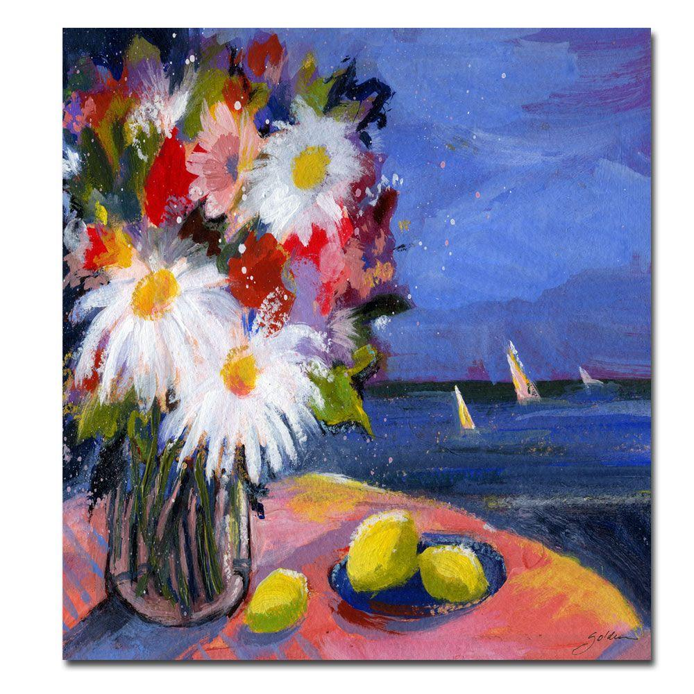 24 in. x 32 in. Out to Sea Canvas Art