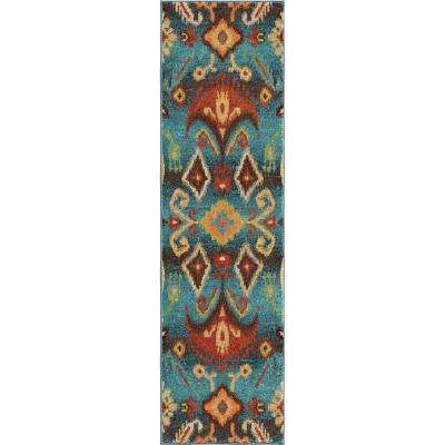 Eastern Tradition Multi Southwestern 2 ft. x 8 ft. Indoor Runner Rug