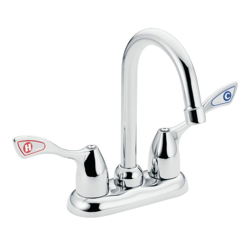 M-Bition 2-Handle Bar Faucet in Chrome