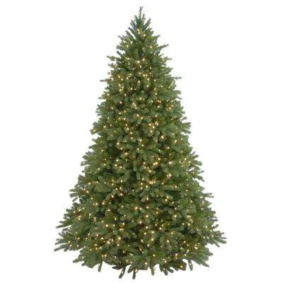 9 ft. Jersey Fraser Fir Artificial Christmas Tree with Clear Lights
