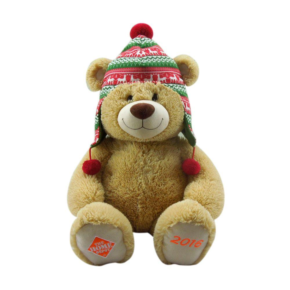HomeAccentsHoliday Home Accents Holiday 22 in. Brown Plush Bear