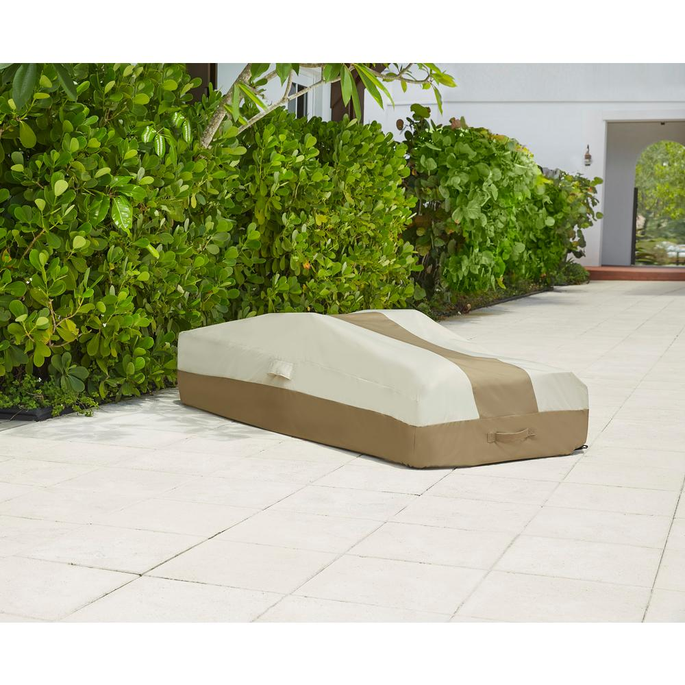 Patio Covers Bay Area: Hampton Bay Chaise Outdoor Patio Cover-628330-C