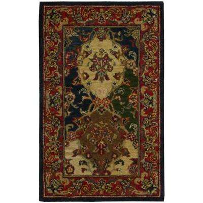 India House Multicolor 3 ft. x 4 ft. Area Rug