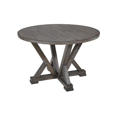 Fiji Harbor Gray  Round Dining Table