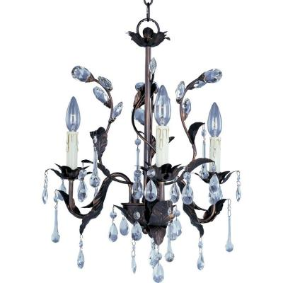Grove 3-Light Oil-Rubbed Bronze Mini Chandelier