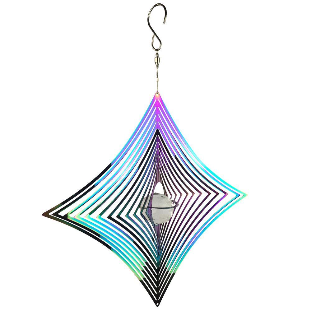 Spinner Iridescent Diamond