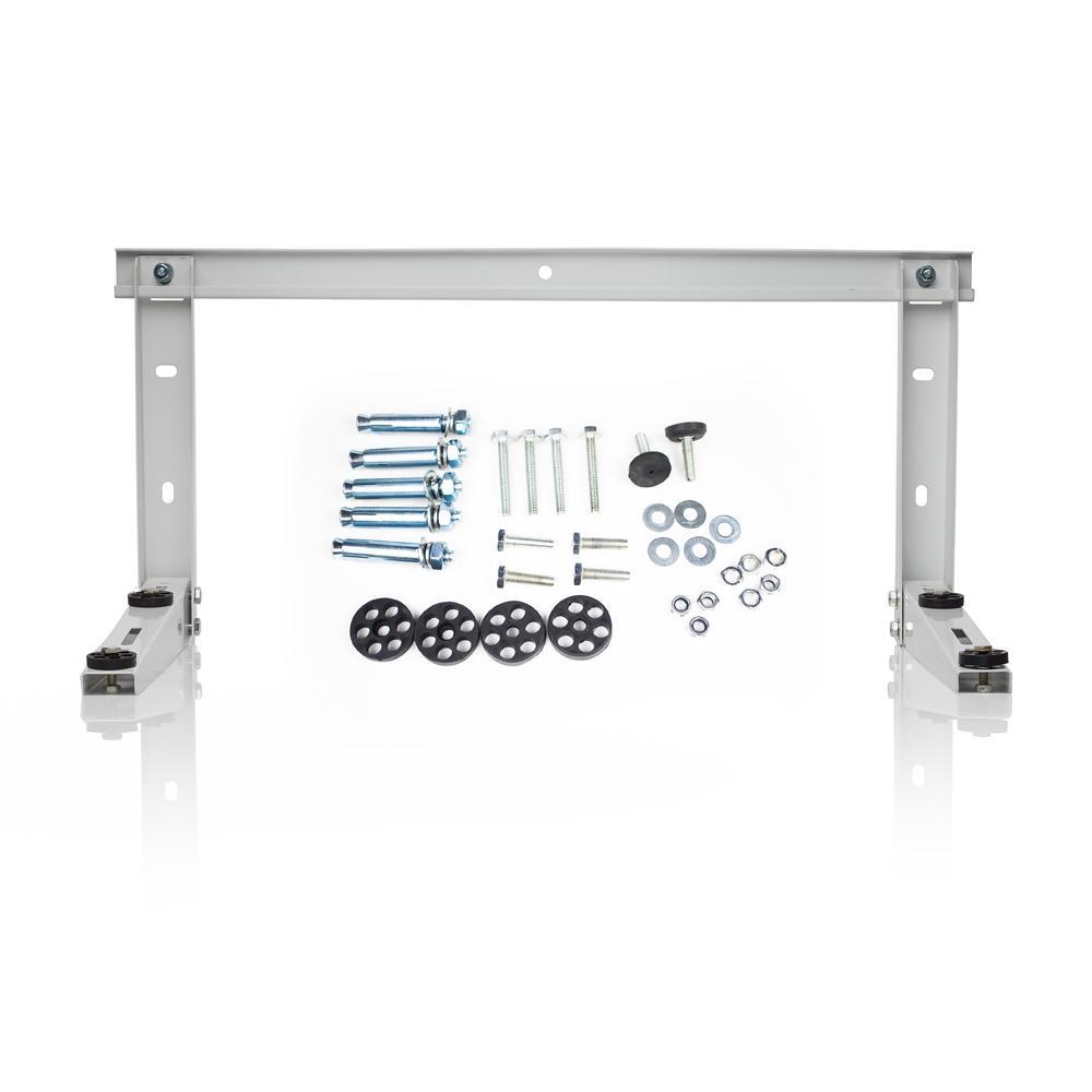 Steel Support Mounting Bracket for Ductless Mini-Split Condenser
