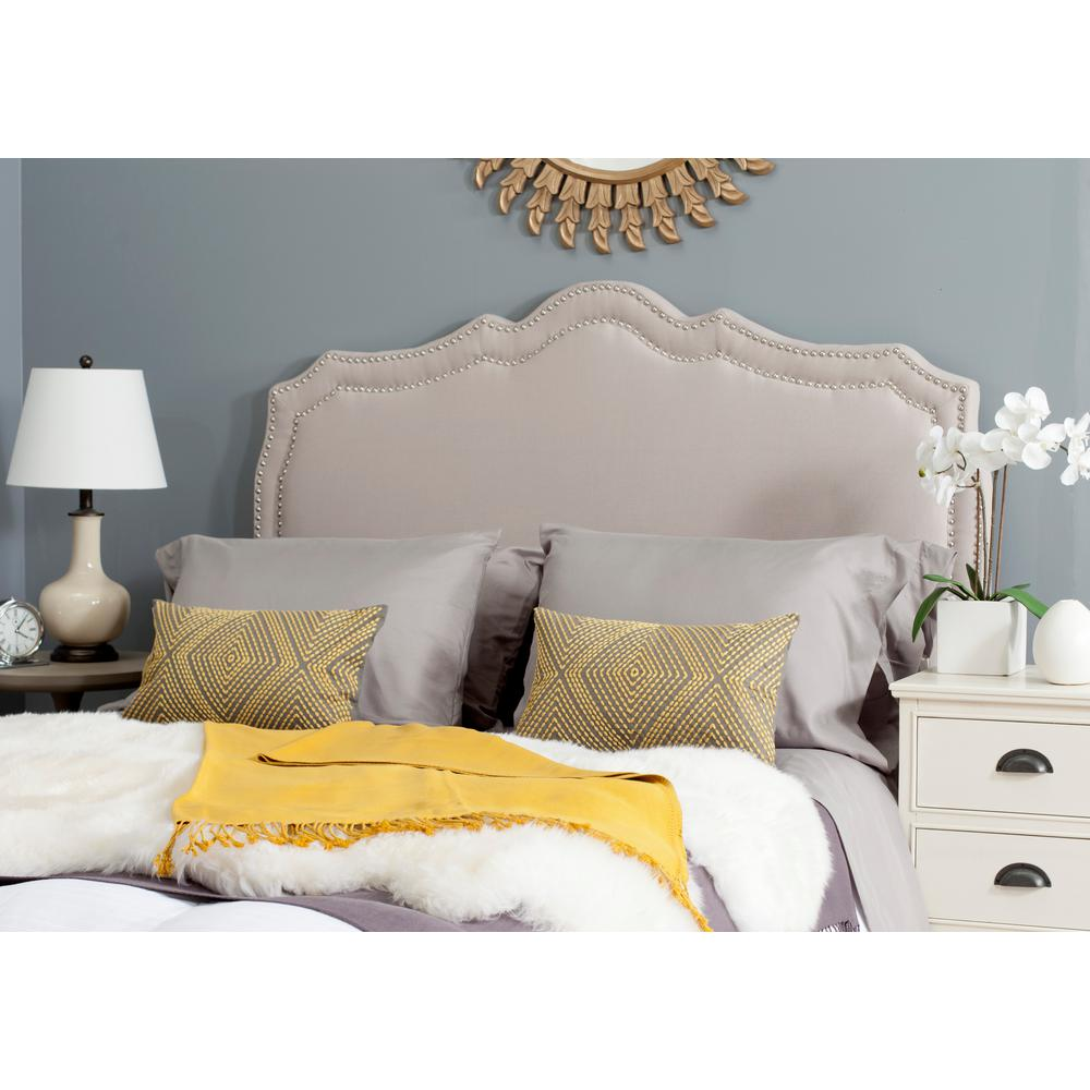 Safavieh Skyler Taupe Queen Headboard
