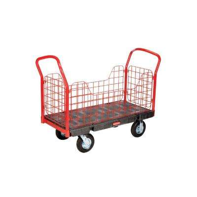 Rubbermaid Commercial Products 1200 lb. Capacity 24 inch x 48 inch Side-Panel Platform Truck by Rubbermaid Commercial Products