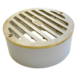 Nds 4 In Brass Grate 910b The Home Depot