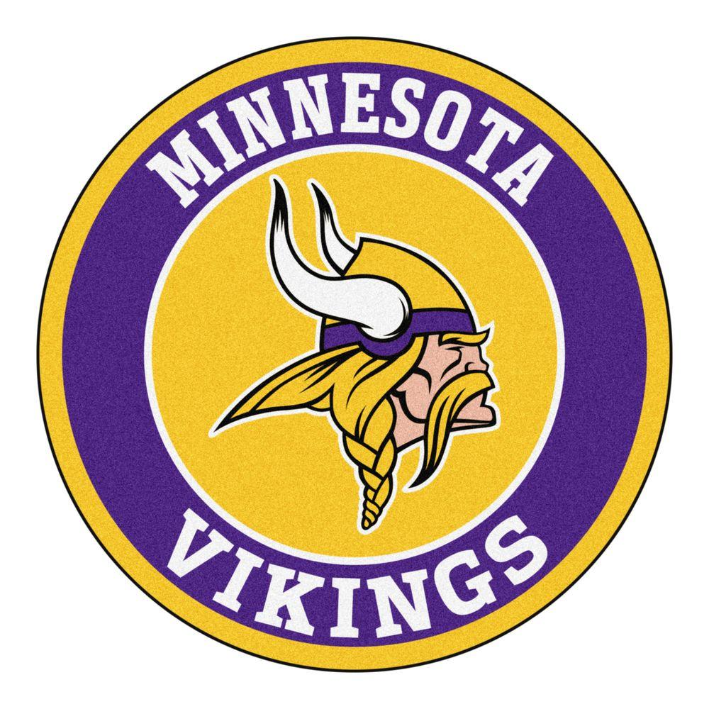 Fanmats Nfl Minnesota Vikings Purple 2 Ft 3 In X 2 Ft 3