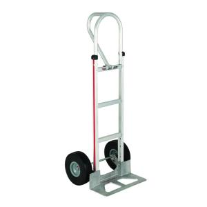 Magliner 500 lb. Capacity Aluminum Hand Truck with Vertical Loop Handle, Diecast Nose Plate and Microcellular... by