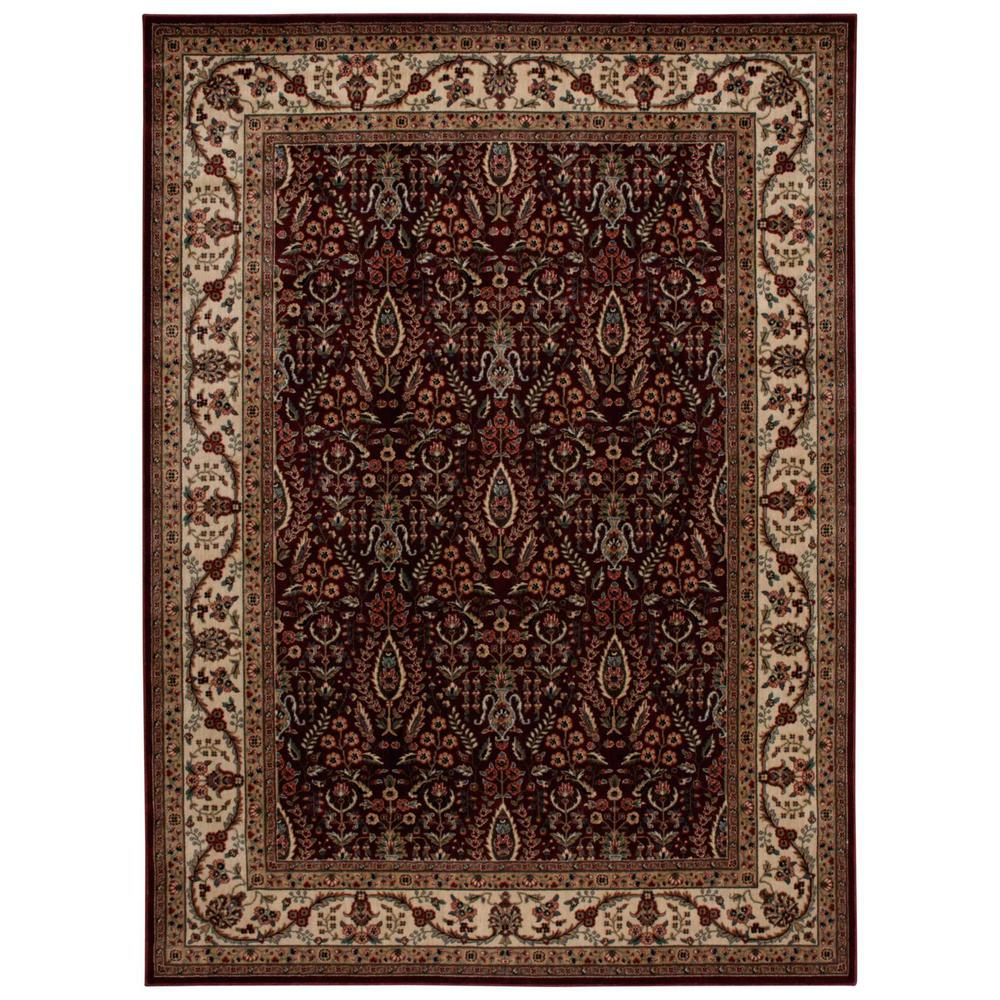 Nourison Persian Arts Burgundy 9 Ft 6 In X 13 Ft Area