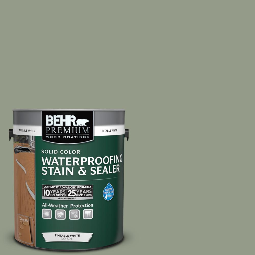 1 gal. #SC-143 Harbor Gray Solid Color Waterproofing Stain and Sealer