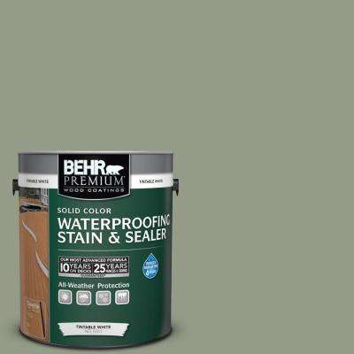Sc 143 Harbor Gray Solid Color Waterproofing Exterior Wood Stain And