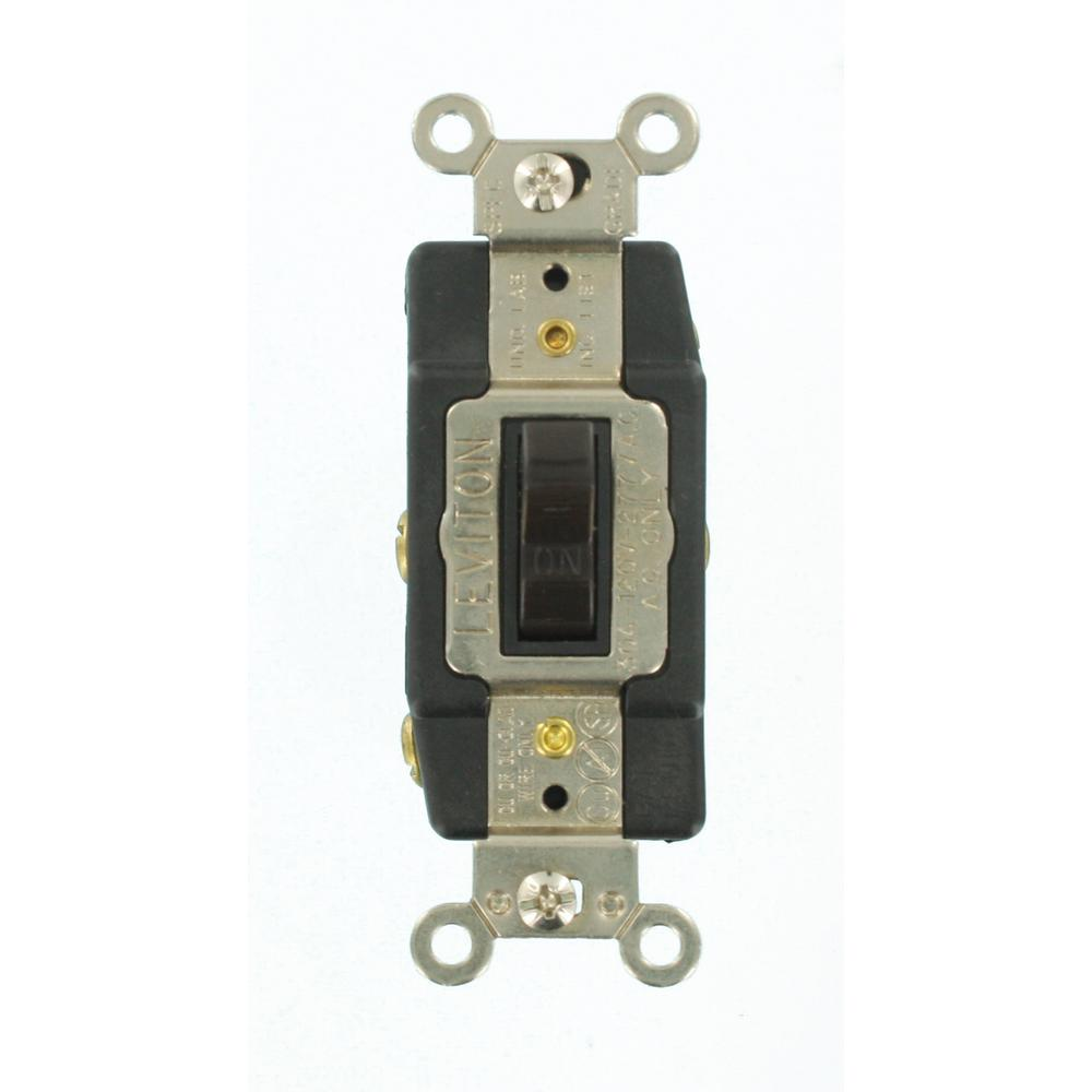 Leviton Double Pole Switch Wiring Diagram : Leviton amp industrial grade heavy duty double pole