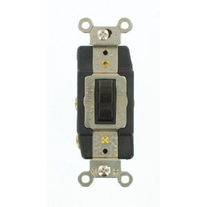 brown leviton switches 1288 64_300 leviton 30 amp industrial double pole switch, white r62 03032 2ws  at webbmarketing.co