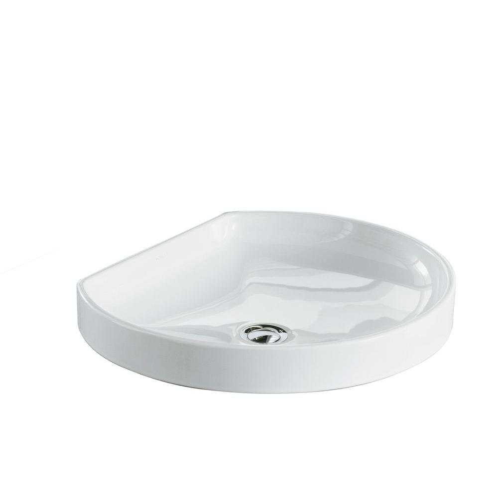kohler bathroom sinks kohler watercove wading pool vitreous china vessel sink in 13384