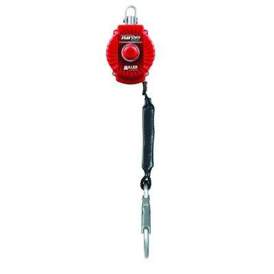 TurboLite 6 ft. Personal Fall Limiter Without Unit Connector Locking Snap Hook Lanyard End Connector