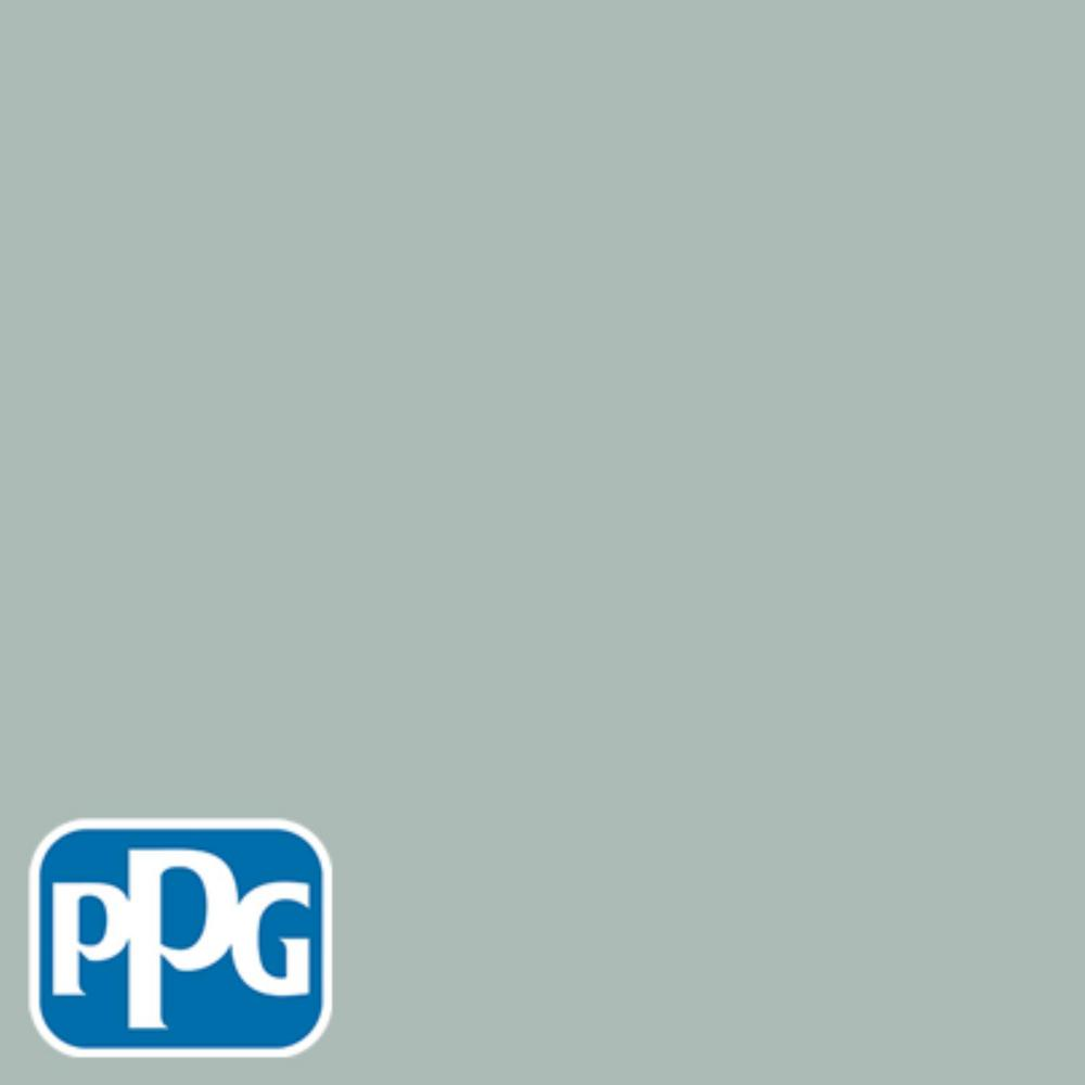 Ppg Timeless 1 Gal Hdppgcn19 Icy Teal Semi Gloss Interior One Coat Paint With Primer Hdppgcn19 01sg The Home Depot