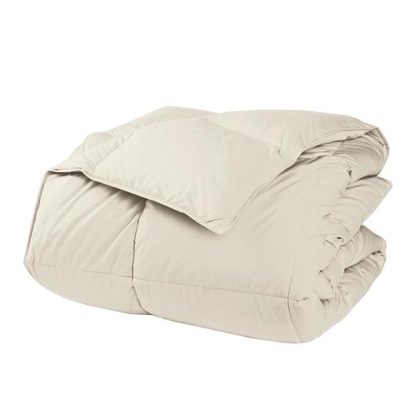 The Company Store LaCrosse Extra-Warmth Ivory King Down Comforter C3F5-K-IVORY
