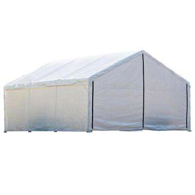 1840 White Canopy Enclosure Kit FR Rated
