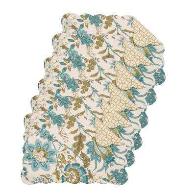 Adrienne Meadow Green Placemat (Set of 6)