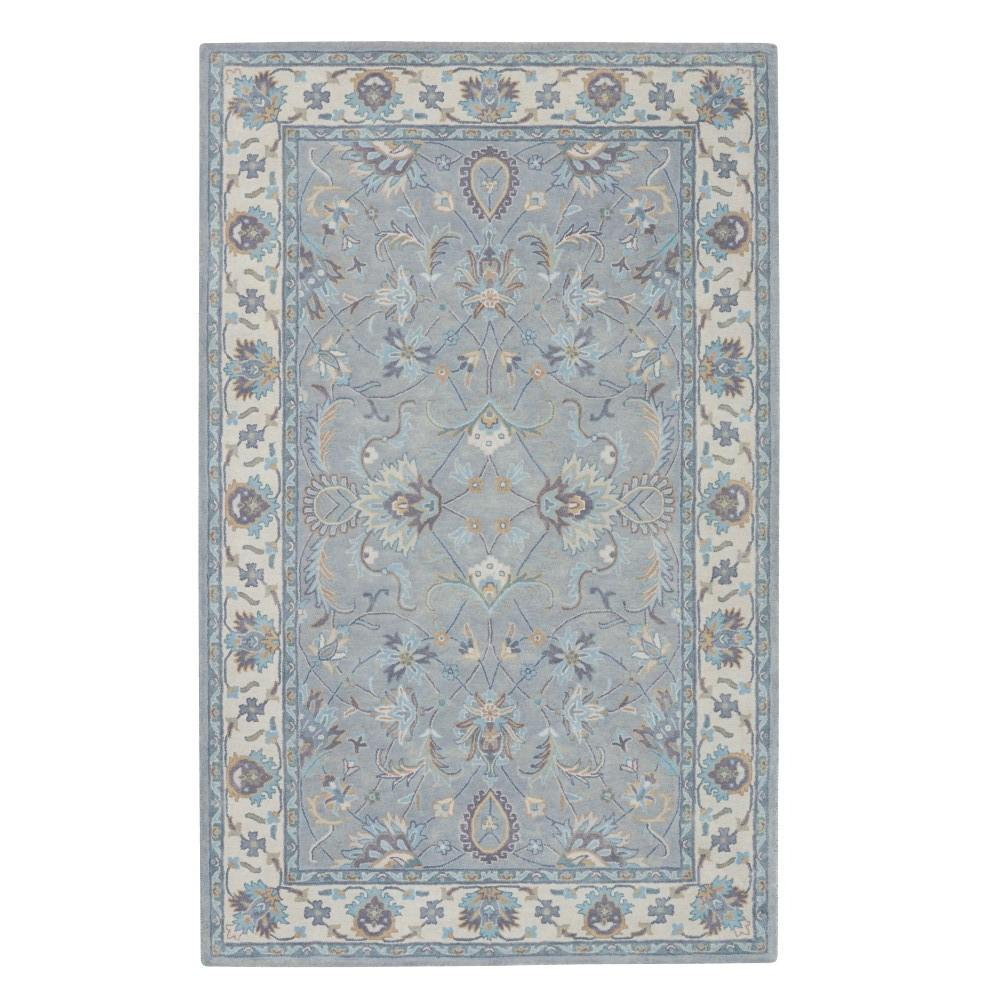 Home Decorators Collection Constantine Light Grey Beige 4 Ft X 6 Area Rug 3151915270 The Depot
