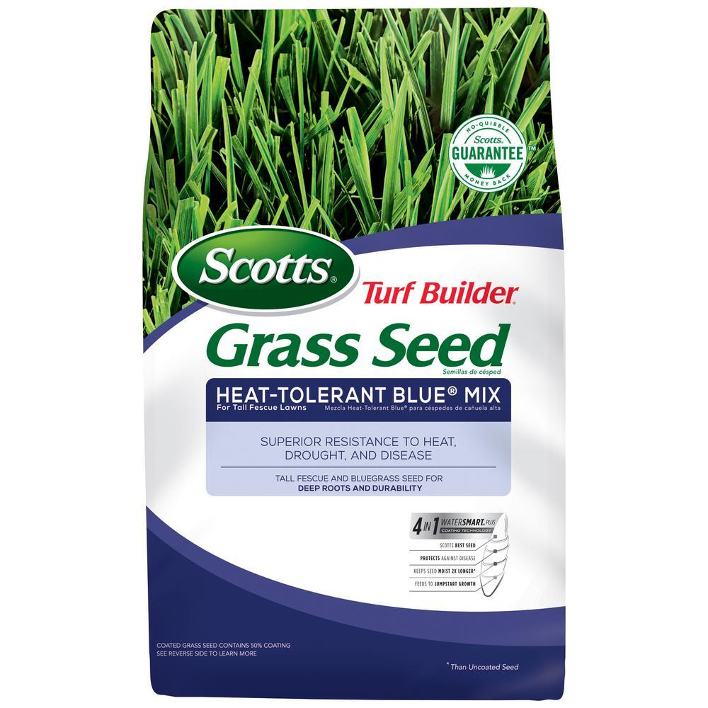 7 lb. Turf Builder Grass Seed Heat-Tolerant Blue Mix