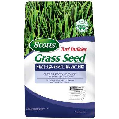 7 lb. Turf Builder Grass Seed Heat-Tolerant Blue Mix